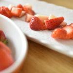 苺の色々な切り方