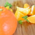 オレンジの剥き方と切り方