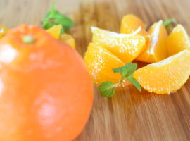 オレンジの剥き方🍊