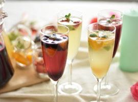 フルーツたっぷり🍓 アルコールフリーのフルーツカクテルジュース