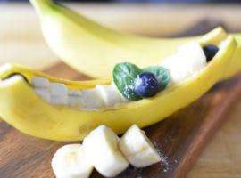 かわいいバナナボートの作り方🍌