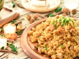 ワンパン料理🍳生米で簡単チャーハン