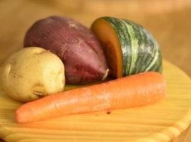 BBQ用焼き野菜の下準備!(事前加熱するもの編)