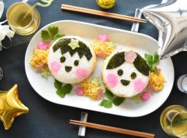 【七夕】まん丸お顔😋のちらし寿司