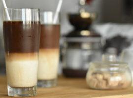 【NoBGM】ドリップコーヒーで作る贅沢なカフェオレ☕