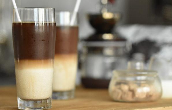 ドリップコーヒーで作る贅沢なカフェオレ☕