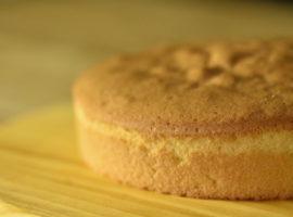 スポンジケーキの作り方