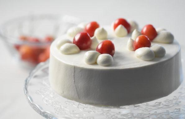 チェリーのショートケーキの作り方