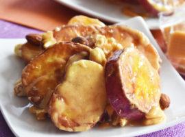 【ワンパン】フライパン1つ!材料5つで!ほくほく大学芋