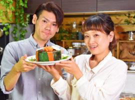 豪華!秋のお寿司ケーキ!