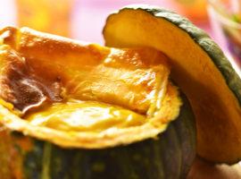 【チーズがとろ~り】まるごとカボチャポタージュの作り方