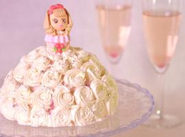 【3Dケーキ】プリンセスケーキの作り方
