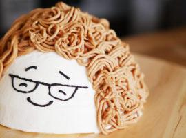 【似顔絵ケーキ】『紅茶のモンブラン』の作り方