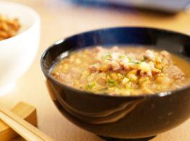 【納豆4パック使って】納豆汁 With 納豆ご飯