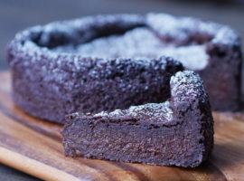 Vegan tofu chocolate cake | ビーガン・ガトーショコラの作り方