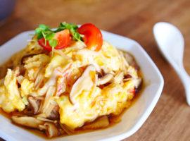 【とろ〜り】ふわとろ天津飯の作り方 Tenshinhan