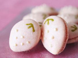 【春のスイーツ】いちごマカロンの作り方 ~ Strawberry Macaron