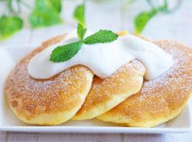 【幸せの】Souffle Pancakes ~ 材料6つ!ふわふわしゅわしゅわのスフレパンケーキの作り方