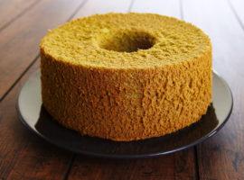 "[Gluten Free] ""Matcha"" Chiffon Cake ~ グルテンフリーのふわふわ抹茶シフォンケーキの作り方"